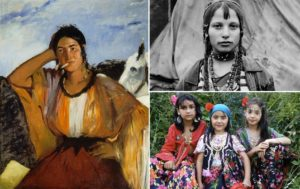 Édouard Manet, Gitana con sigaretta, 1862 - Foto di repertorio bambine rom
