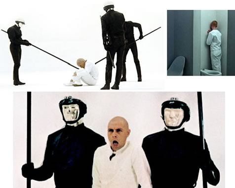 """THX 1138"", prima prova fantascientifica di George Lucas, 1971"