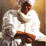 """""""Il ragazzo nubiano"""" di Ahmed Salah"""
