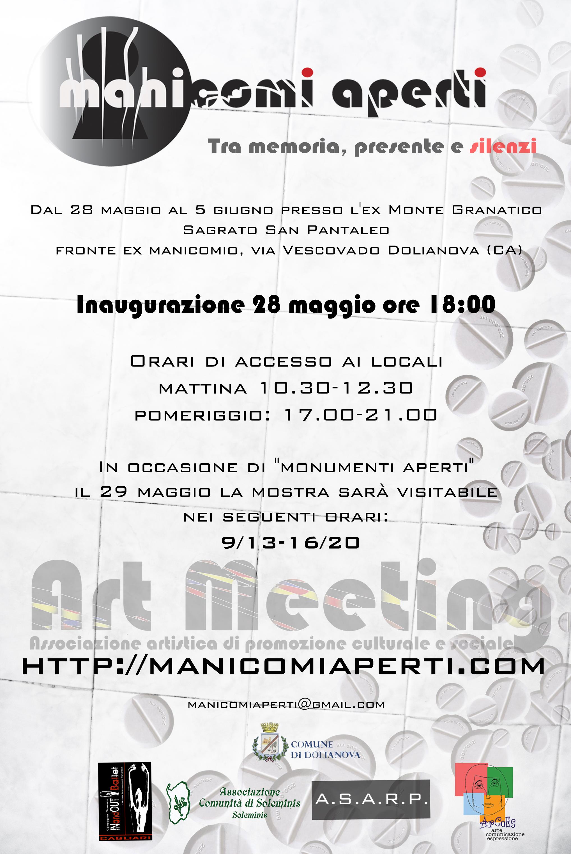 """Inaugurazione della mostra """"Manicomi Aperti. Tra memoria, presente e silenzi"""", 28 maggio 2011, Dolianova (CA)"""