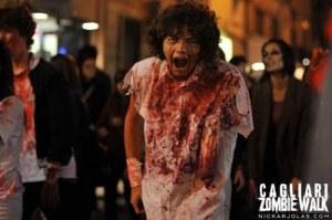 Zombie Walk, la passeggiata dei non-morti, sabato 14 maggio 2011 a Cagliari