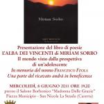 """Presentazione de """"L'Alba dei Vincenti"""" di Miriam Sorbo, Rupe Mutevole Edizioni, 8 giugno 2011, San Nicola La Strada (CE)"""