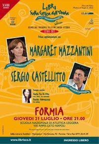 Margaret Mazzantini e Sergio Castellitto insieme anche sul palco, Formia, giovedì 21 luglio, di Nadia Turriziani