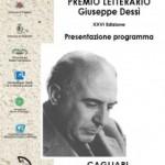 Premio Dessì XXVI Edizione a Cagliari per conferenza stampa 2 settembre 2011 – programma completo