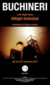 Workshop fotografico Late Night Tales, dal 24 novembre 2011, Roma