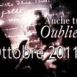 """Rosaria Fiore vincitrice della sezione A de """"Anche tu su Oubliette"""" – mese di Ottobre 2011"""
