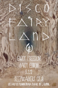 """Enjoy Freedom Party Edition"" allo SleepWalkers Club, 5 gennaio 2012, Guspini"