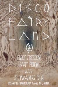 """""""Enjoy Freedom Party Edition"""" allo SleepWalkers Club, 5 gennaio 2012, Guspini"""