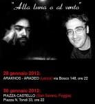 """""""Alla Luna o al Vento"""", performance teatrale,  29-30 gennaio  e 2 febbraio 2012"""