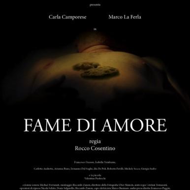 """""""Fame d'Amore"""", il nuovo film di Rocco Cosentino"""