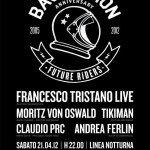 Video live de Basstation 7° Anniversary, Linea Notturna, Cagliari