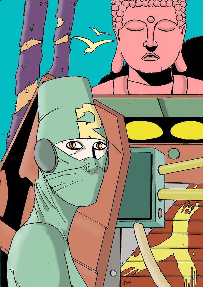 Dialogo tra Esse ed il fumettista Daniele Murtas