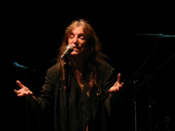 Resoconto del concerto di Patti Smith, Villa Arconati