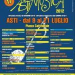 """17° edizione de """"Astimusica & Parole"""", dal  9 al 21 luglio 2012,  Asti"""