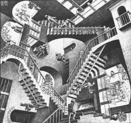 L'incisore e grafico olandese Maurits Cornelis Escher: il confine tra realtà ed illusione