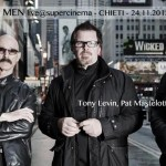 Stick Men in concerto live al Teatro Auditorium di Chieti, 24 novembre 2012