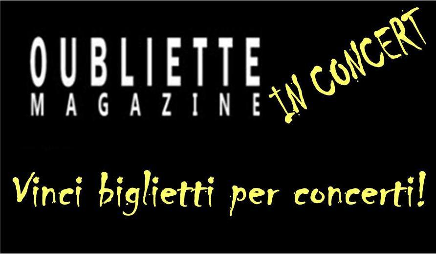 OublietteMagazine regala biglietti per concerti in Italia delle band di Fleisch – scopri come