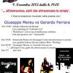 """""""Gatti che attraversano la strada"""": Giuseppe Mereu VS Gerardo Ferrara, 9 novembre al Nai, Cagliari"""