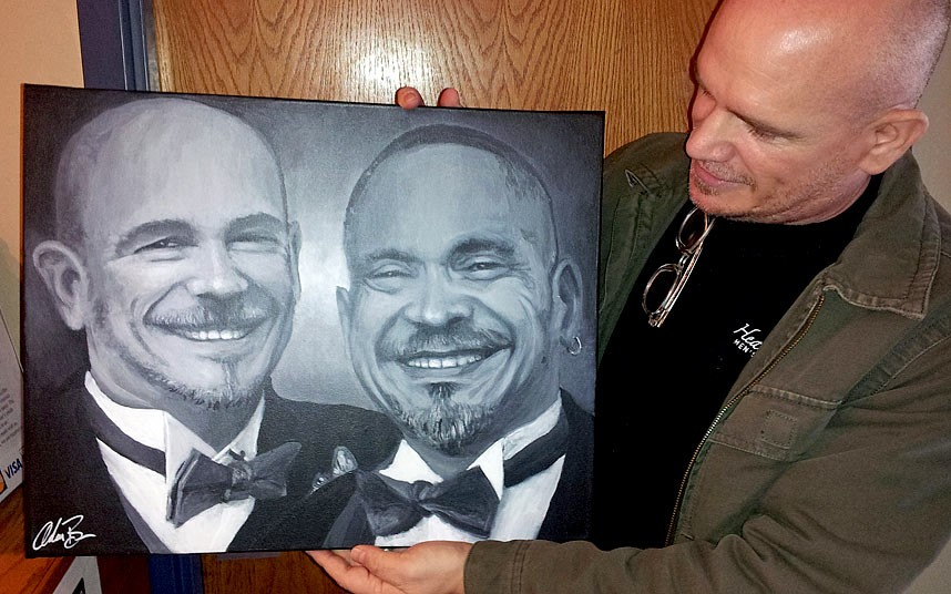 Adam Brown: il pittore del Missouri che dipinge con le ceneri dei defunti