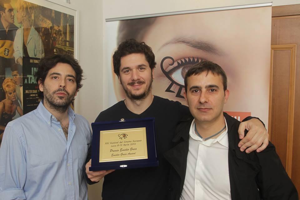 Intervista di Irene Gianeselli ad Alessandro Greco per il Premio Emidio Greco al Festival del Cinema Europeo di Lecce