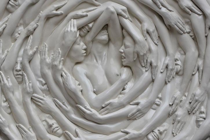 """""""Alexandros Yiorkadjis. L'armonia e il contrasto"""": in mostra le sculture in movimento fino al 25 maggio 2014, Montevarchi"""