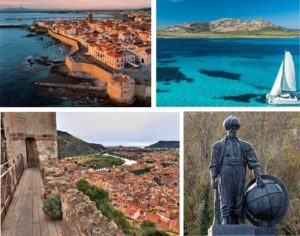 Alghero - Asinara - Bosa Castello Malaspina - Dragut statua Istanbul