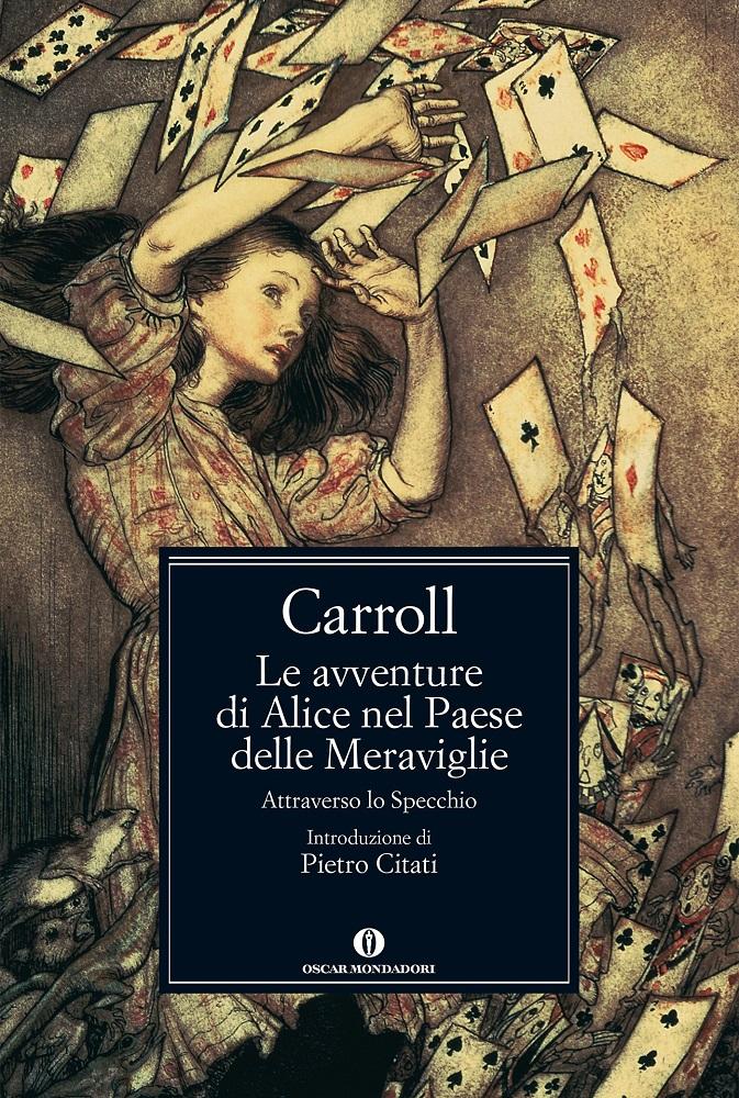 Alice nel paese delle meraviglie di lewis carroll qui - Lo specchio frasi ...