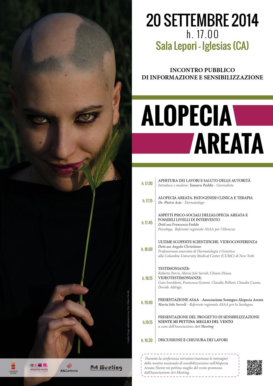 Incontro di informazione e sensibilizzazione sull'Alopecia Areata, sabato 20 settembre, Iglesias