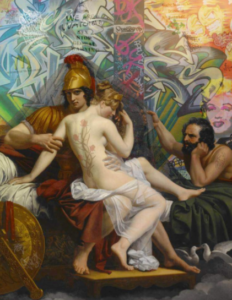Amor Caecus - Painting by Marco Battaglini