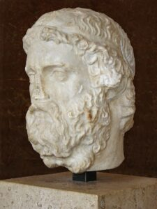 Anacreonte - Museo del Louvre