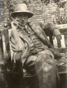 André Gide - Photo by Lady Ottoline Morrell, August 1920