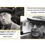 """""""Caro Maestro, Caro Simenon"""" carteggio tra André Gide e Georges Simenon: storia di un apprendistato"""