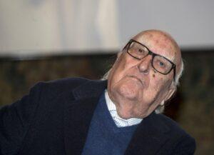 Andrea Camilleri - Photo by Giornale di Sicilia