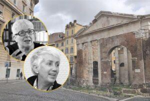 Anna Foa e Lucetta Scaraffia - Ghetto ebraico Roma