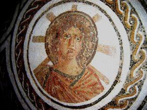 Apollo-Elio in un mosaico romano del II secolo