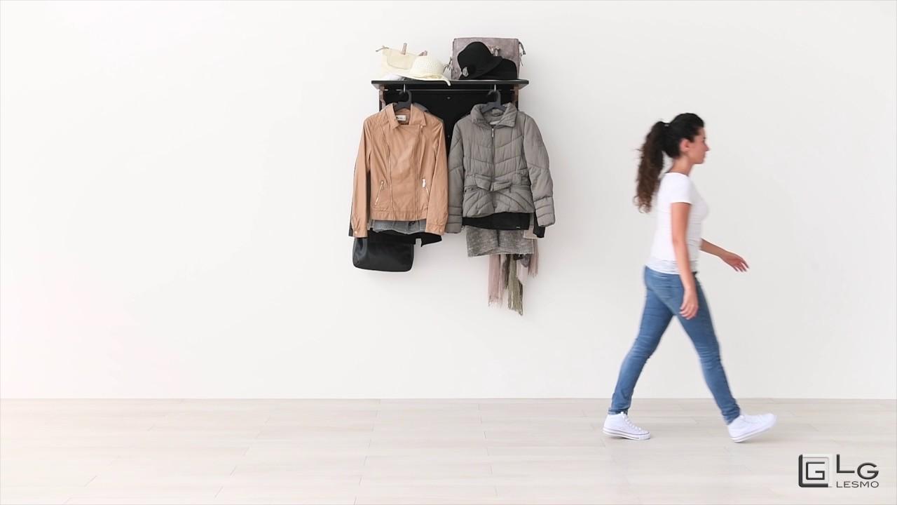 L'appendiabito diventa elemento di design: in vendita soluzioni minimal, essenziali, colorati per una casa pratica