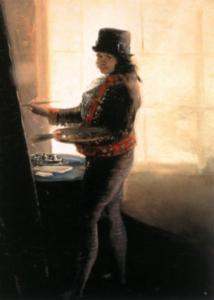 Autoritratto di Francisco Goya