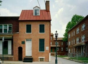 Baltimora - casa di Edgar Allan Poe