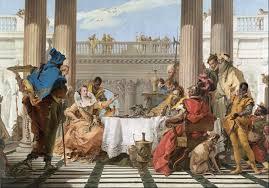 Banchetto di Antonio e Cleopatra - Giambattista Tiepolo
