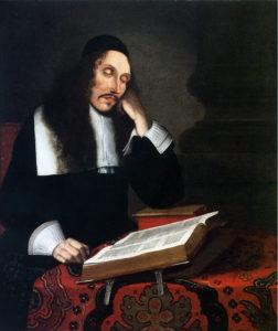 Baruch Spinoza in un ritratto di Franz Wulfhagen (1664)
