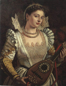 Bianca - Painting by William Holman Hunt - 1868
