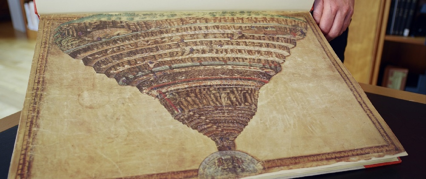 """""""Botticelli. Inferno"""" il docufilm di Ralph Loop: l'Oltretomba nella Divina Commedia, dal 7 al 9 novembre, Nexo Digital"""