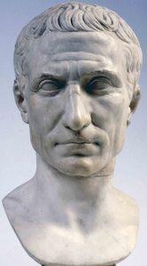 Busto di Gaio Giulio Cesare