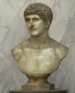 Busto marmoreo di Marco Antonio