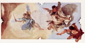 Caduta degli angeli ribelli - Giambattista Tiepolo