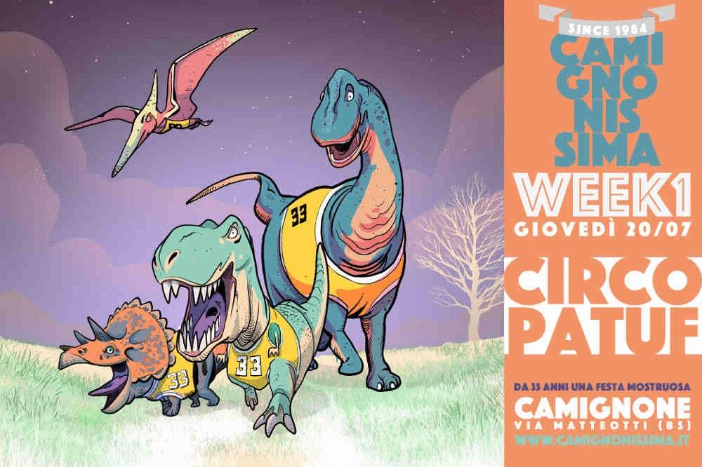 XXXIII° edizione de Camignonissima: una festa mostruosa in due week end di luglio di musica e comicità, Camignone