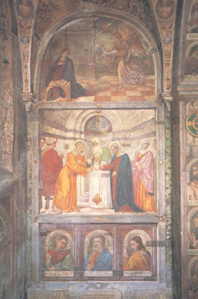 La Scuola della Carità di Padova: un ciclo di dodici affreschi del Cinquecento illustra la vita della Vergine