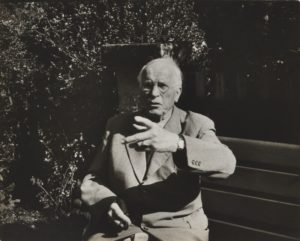 Carl Gustav Jung - Photograph by Nahum Tim Gidal - 1957