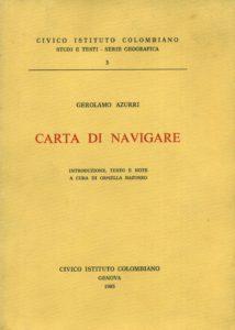 Carta di Navigare - Gerolamo Azurri