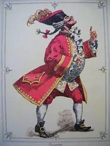 Cassandrino - Maschera Carnevale
